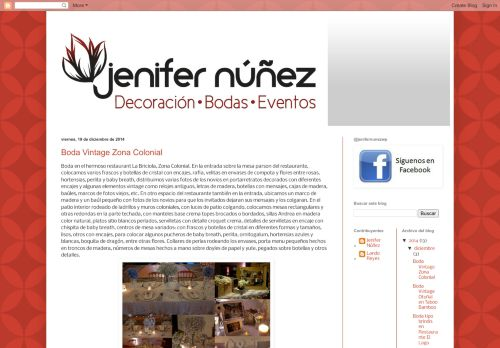 jenifer núñez wedding and event planner planificadores de bodas de